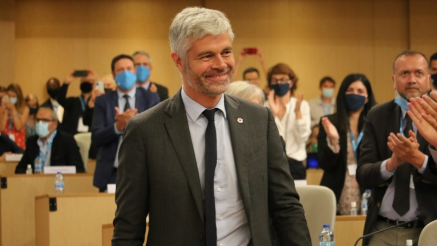 Laurent Wauquiez logiquement élu à la tête de la Région Auvergne-Rhône-Alpes