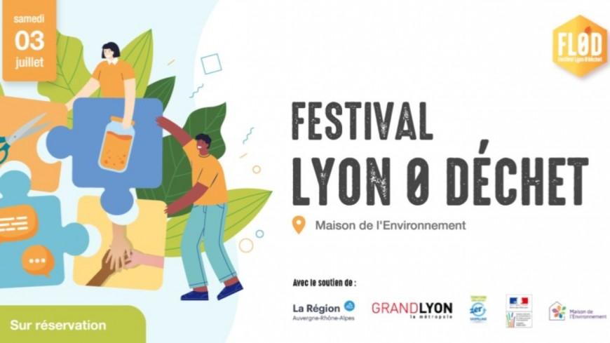 Le festival Lyon Zéro Déchet revient à Lyon ce samedi
