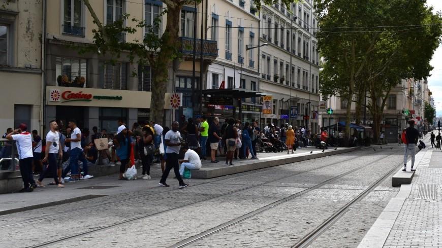 """Lyon : une """"rixe très violente"""" dans le quartier de la Guillotière, l'arme se serait enrayée"""