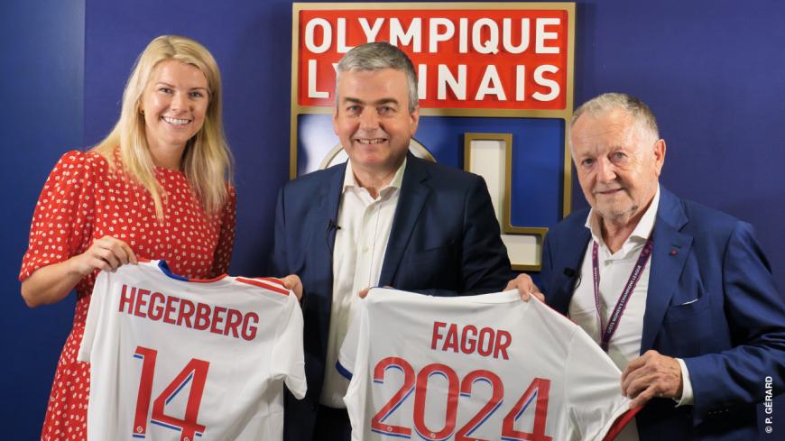Fagor Electroménager, nouveau partenaire majeur de l'OL féminin