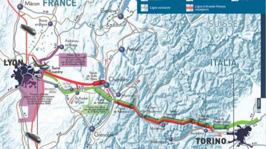 Lyon-Turin : le plus gros du chantier sera géré par Eiffage et Vinci