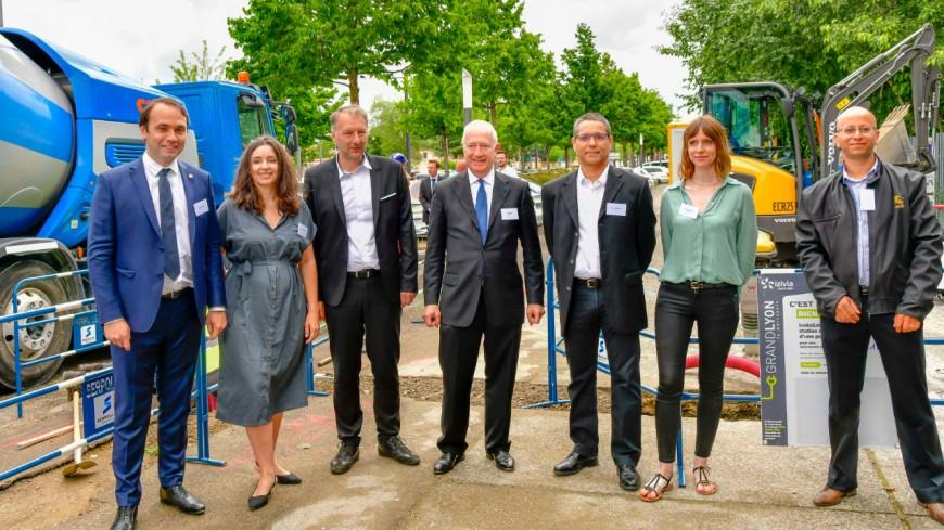 Près de Lyon : Bron expérimente un chantier bas-carbone