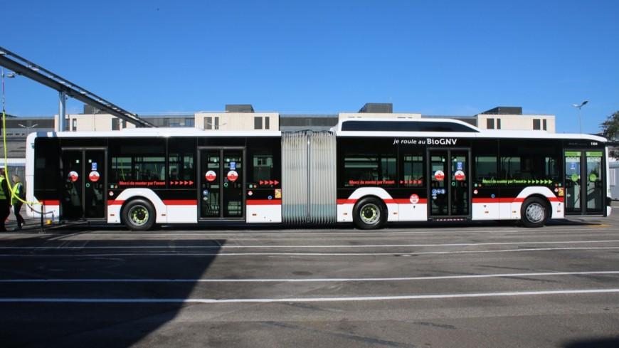 Les premiers bus au BioGNV déployés lundi dans la Métropole de Lyon
