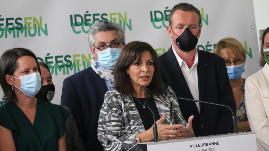 Depuis Villeurbanne, Anne Hidalgo annonce à demi-mot ses ambitions pour la présidentielle