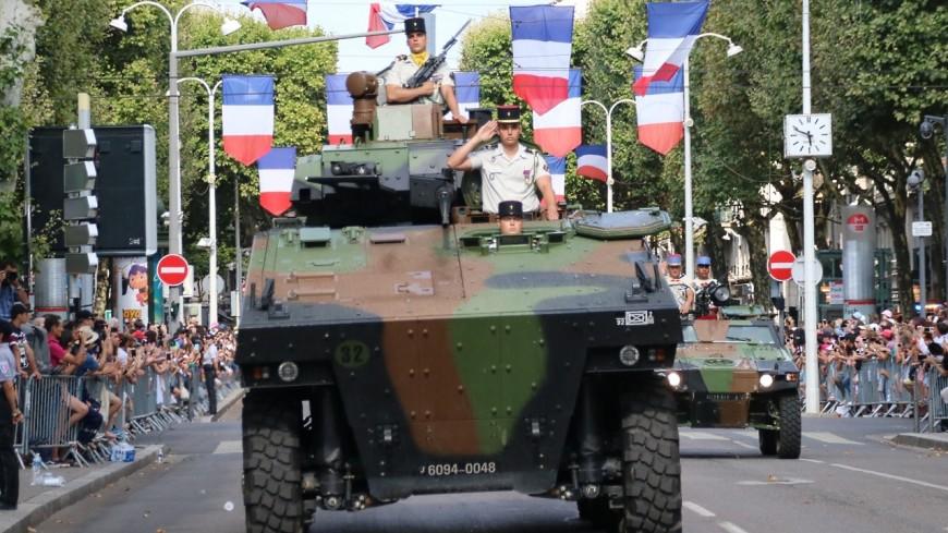 Lyon : un défilé militaire sans véhicule pour le 14 juillet
