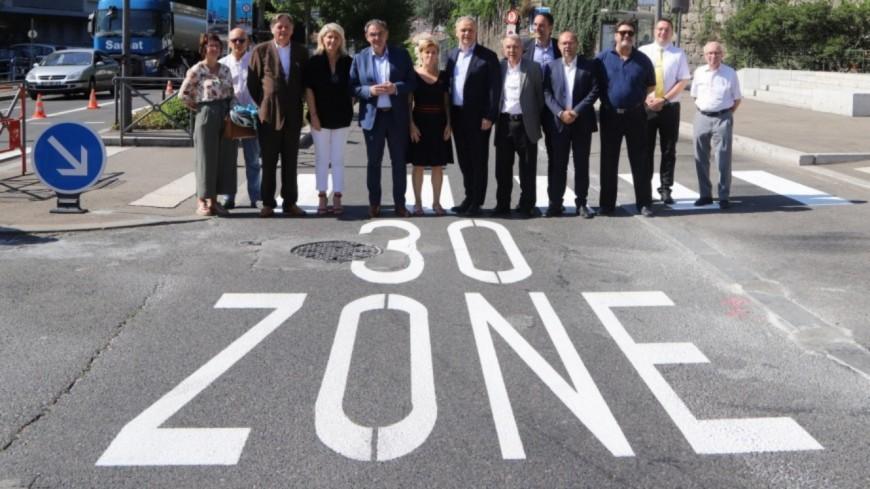 Métropole de Lyon : Fabien Bagnon écrit à tous les maires pour leur proposer de passer en ville 30km/h