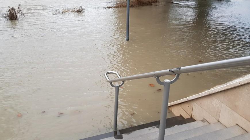 Le Rhône et la Saône en alerte jaune aux crues à Lyon