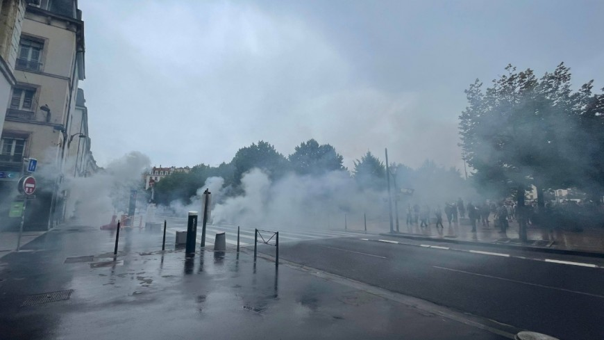 Manifestation anti-pass sanitaire à Lyon : quatre jeunes mis en examen