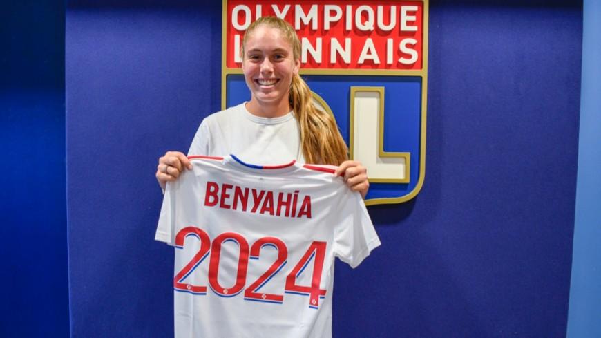 OL féminin : Inès Benyahia prolonge son contrat d'une saison