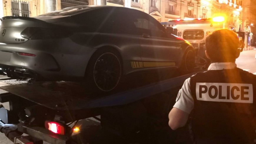 Lyon : un automobiliste interpellé lors d'une opération de contrôle anti-rodéo