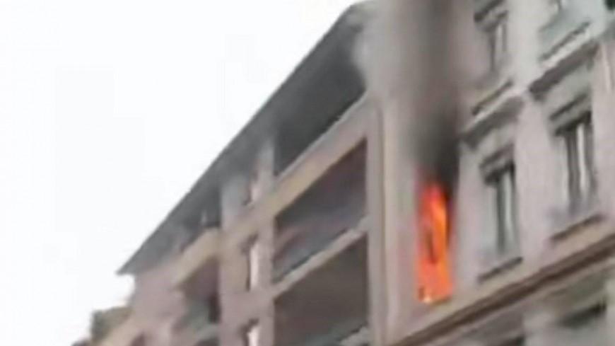 Villeurbanne : une quarantaine de pompiers mobilisés pour l'incendie d'un appartement