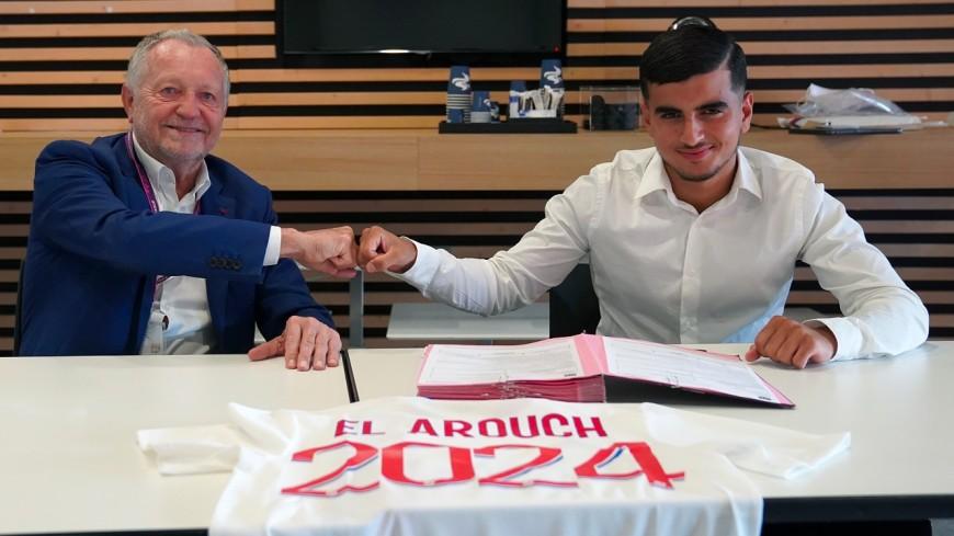 OL : Mohamed El Arouch signe son premier contrat professionnel