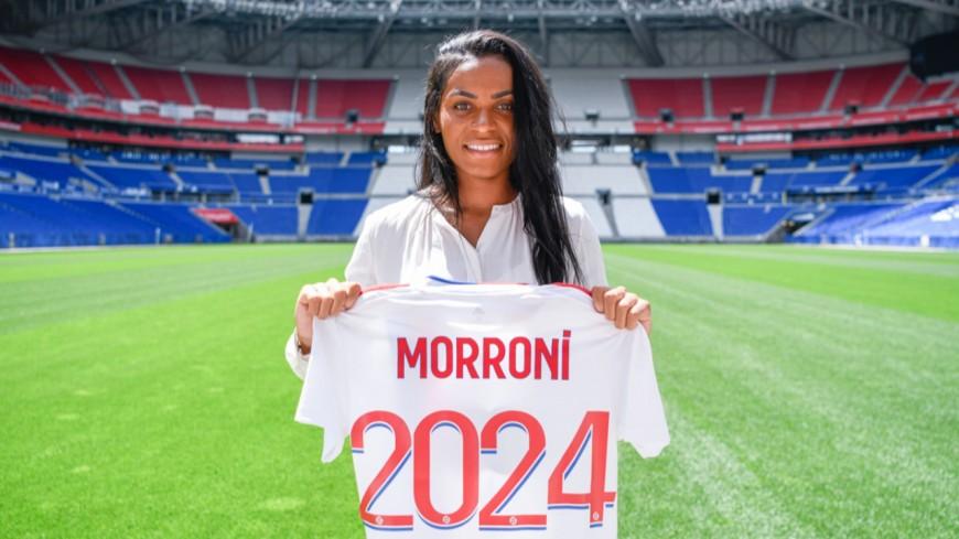 L'OL féminin officialise l'arrivée de Perle Morroni