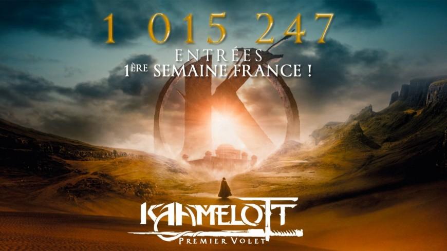 Kaamelott d'Alexandre Astier dépasse le million de spectateurs en une semaine