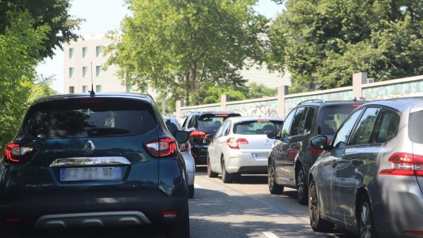 Agglomération de Lyon : encore beaucoup de monde sur les routes ce week-end, Bison Futé voit noir