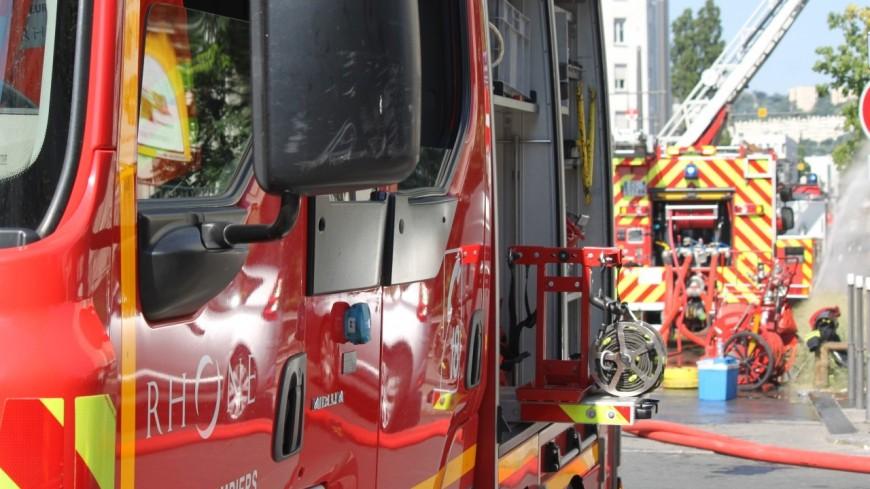 Lyon : un feu d'appartement à la Croix-Rousse, trois blessés légers