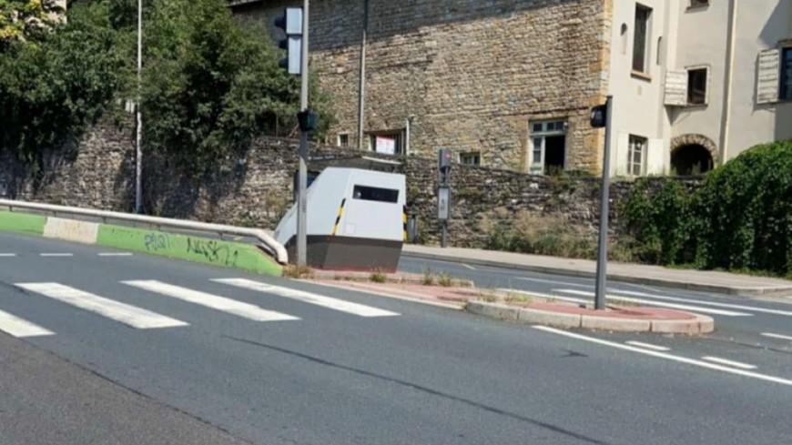Lyon : un radar installé dans la montée de Choulans