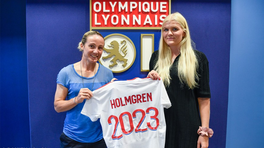 OL féminin : Emma Holmgren recrutée au poste de 2e gardienne