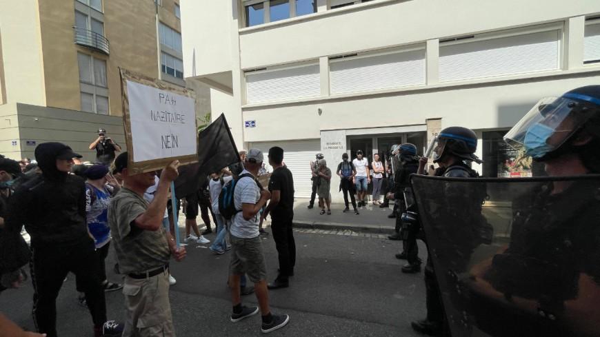 Nouvelle journée de manifestations anti pass sanitaire à Lyon