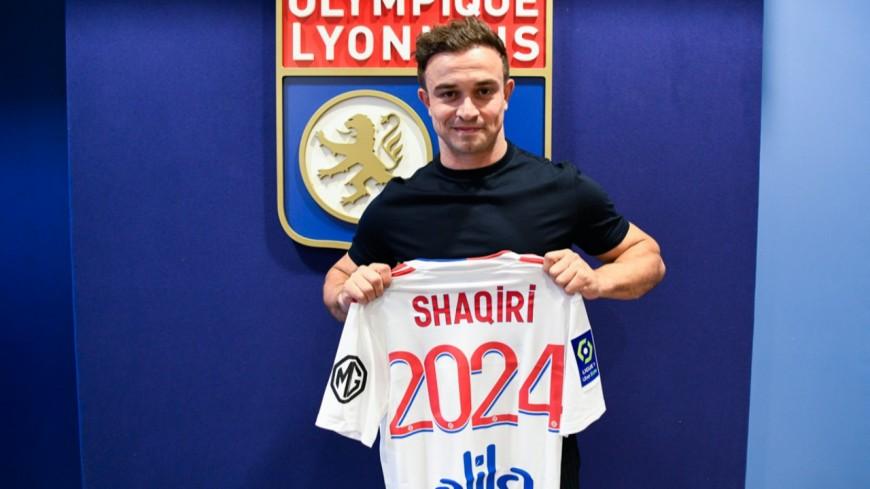Xherdan Shaqiri s'engage avec Lyon jusqu'en 2024 (officiel)