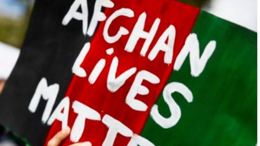 """Une manifestation à Lyon pour """"l'accueil inconditionnel"""" des réfugiés afghans"""