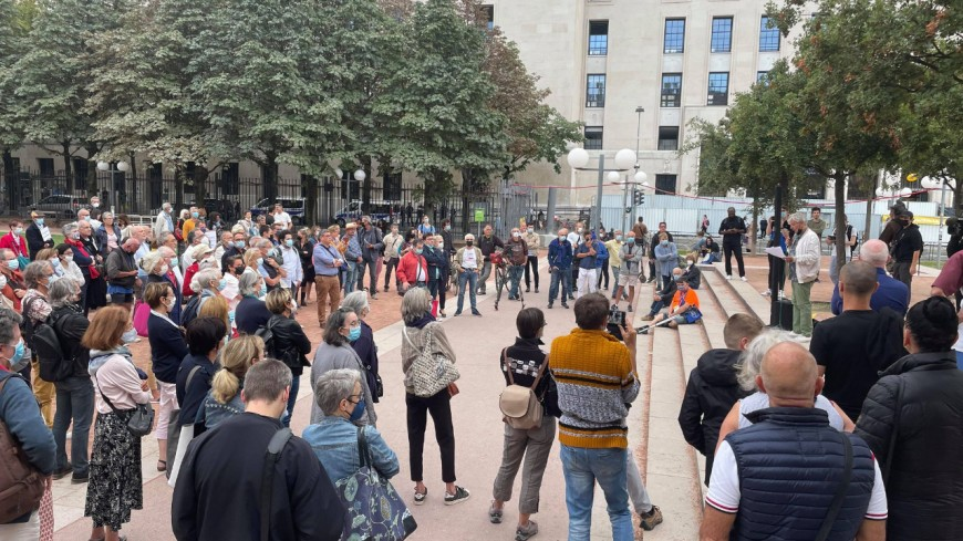 Lyon : moins de 100 participants au rassemblement pro-vaccin et pass sanitaire