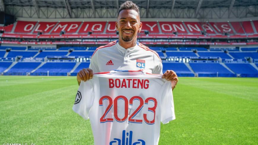 """A l'OL jusqu'en 2023, Jérôme Boateng est """"impatient d'écrire un nouveau chapitre"""""""