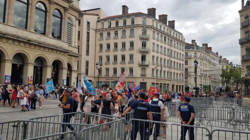 Allongement du temps du travail : les agents de la Ville de Lyon ont manifesté ce jeudi