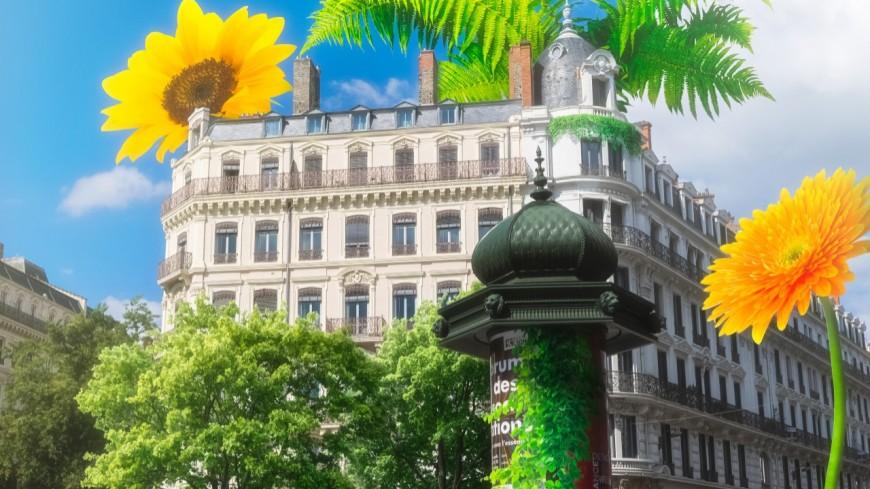 Lyon : la place de la République transformée en jardin géant pour Garden in République