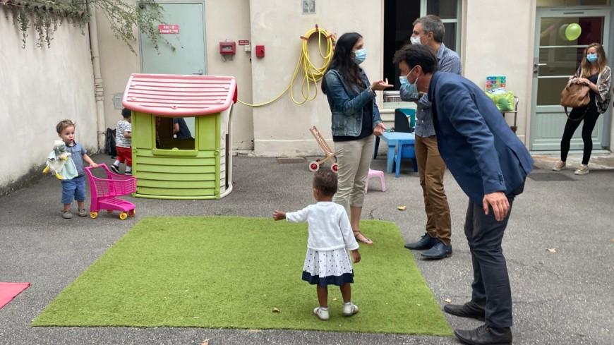 Lyon : la municipalité s'engage pour réduire les perturbateurs endocriniens dans les crèches