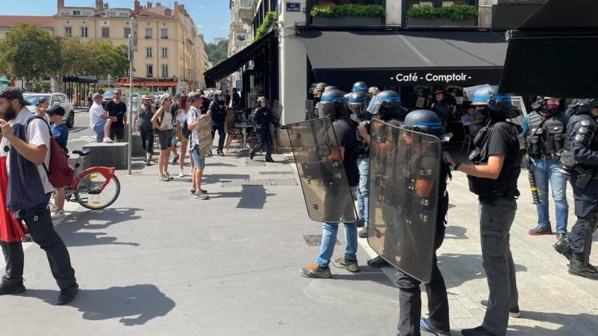 Manifestation anti-pass sanitaire : rassemblements interdits en Presqu'Île à Lyon ce samedi