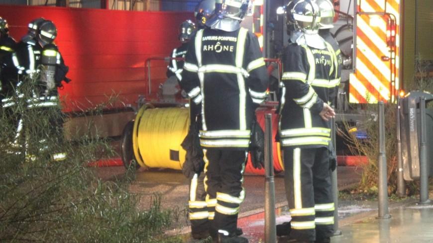 Lyon : incendie de cave dans la nuit, 10 personnes évacuées