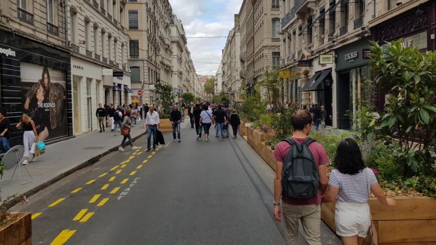 Lyon : la piétonnisation de retour avec la Voie est Libre ce week-end