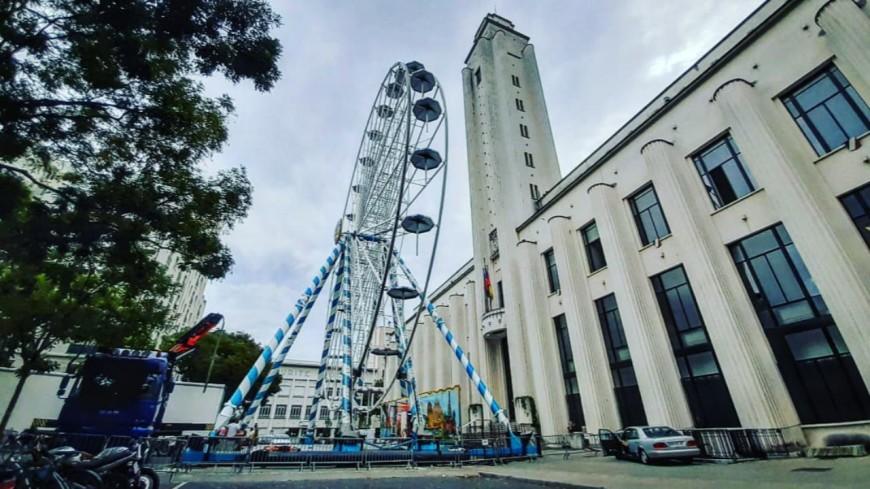 Une grande roue s'installe à Villeurbanne à l'occasion des Invites