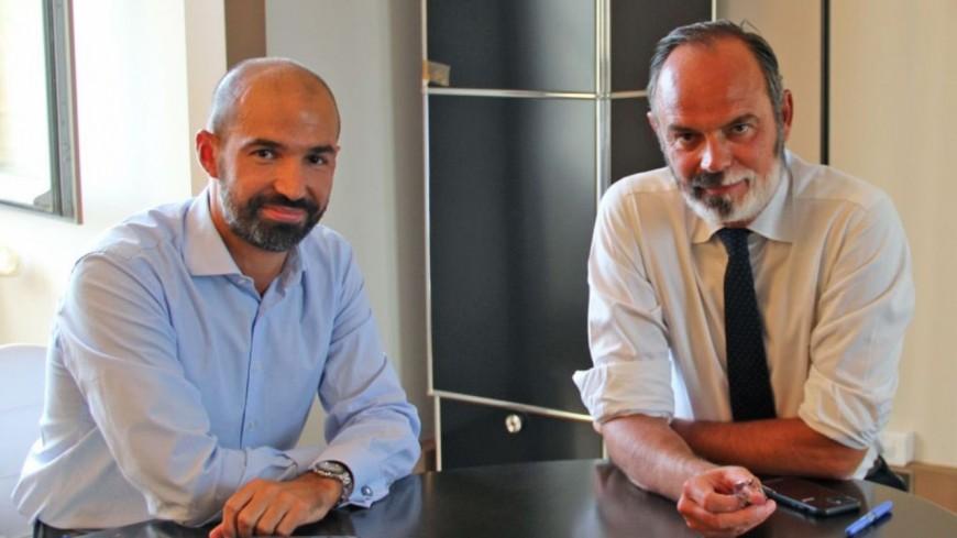 """Le maire d'Ecully reçoit Edouard Philippe : """"Sa voix compte à droite et au centre"""""""