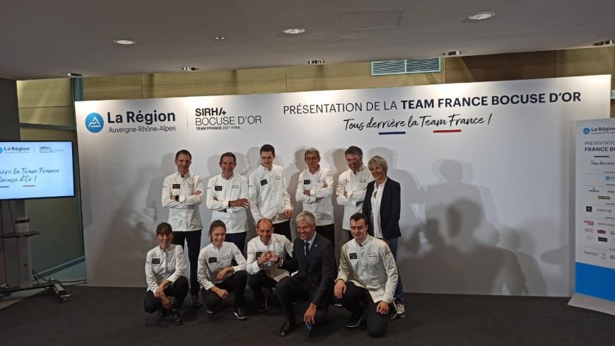 SIRHA : la Team France veut ramener le Bocuse d'Or à la maison