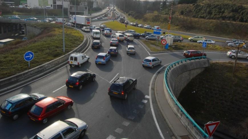 Lyon : un accident sur le périphérique nord, la circulation chaotique (MàJ)