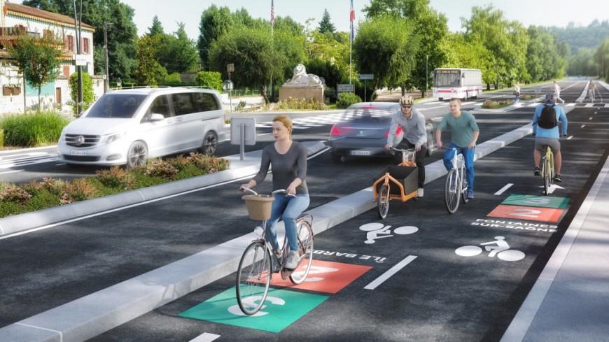 Le Réseau Express Vélo devient les Voies Lyonnaises : 13 lignes pour 355 km de pistes cyclables dans la Métropole