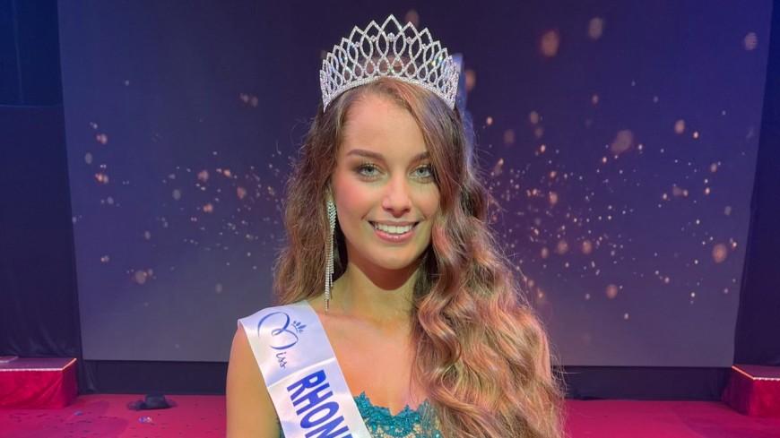 Charlotte Faure (Isère) élue Miss Rhône-Alpes 2021
