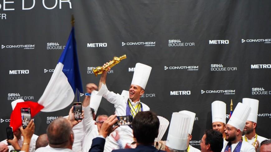 Lyon: le Bocuse d'Or pour la France et Davy Tissot!