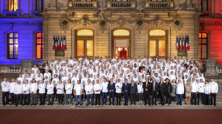 Lyon : le menu du Dîner des Grands Chefs auquel participe Emmanuel Macron