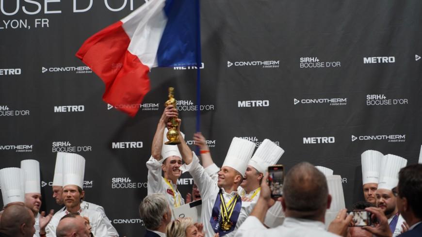 Bocuse d'Or : Davy Tissot et son équipe reçus à l'Hôtel de Ville de Lyon