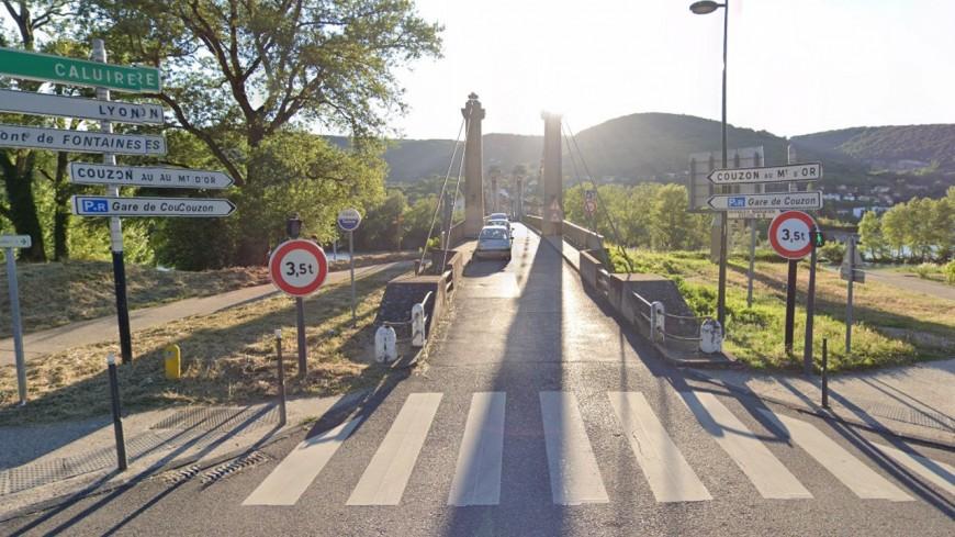 Près de Lyon : le pont de Couzon a rouvert à la circulation