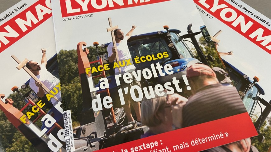 La révolte de l'Ouest lyonnais face aux écologistes en Une de LyonMag !