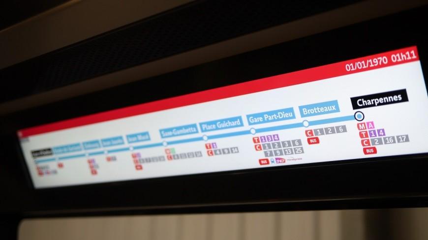 Lyon : le métro B à l'arrêt le soir à partir de ce lundi