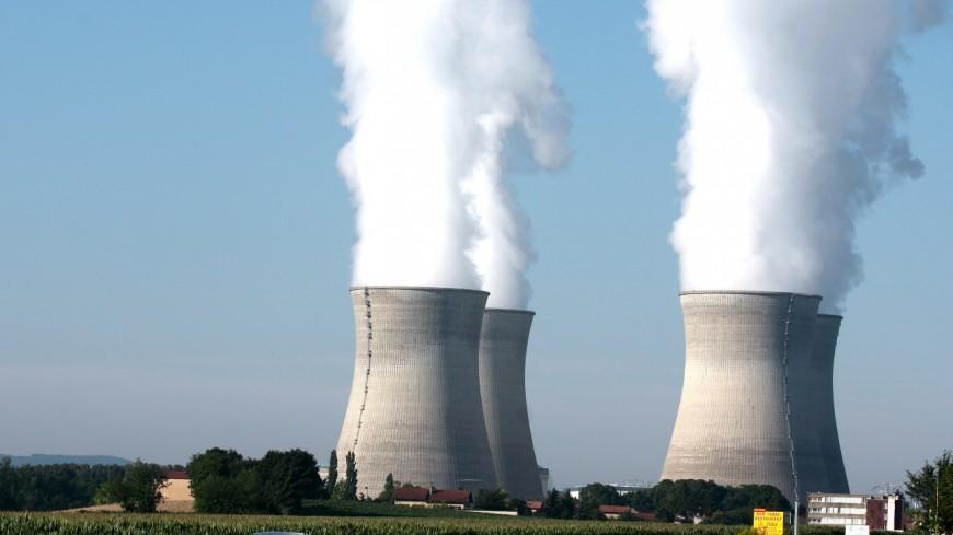 Près de Lyon : des élus écologistes de la Région manifestent devant la centrale nucléaire du Bugey