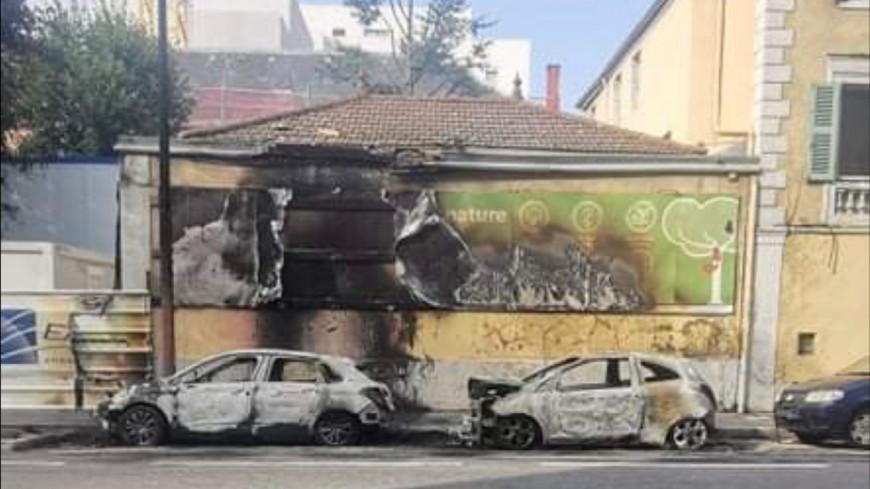 Lyon : deux voitures incendiées, le feu se propage à un bâtiment