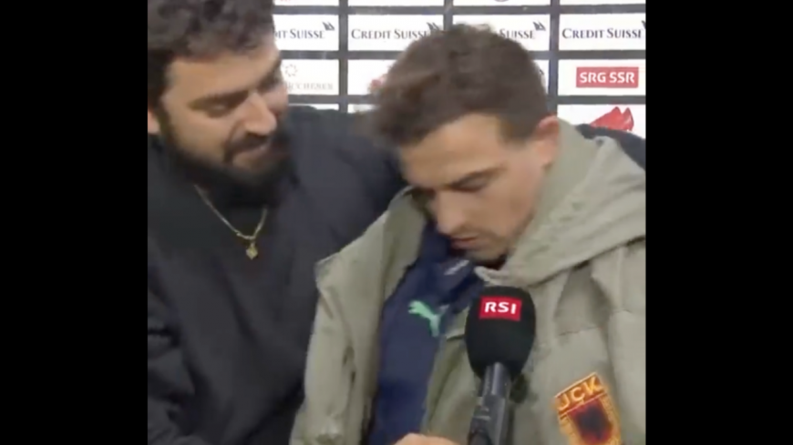 Xherdan Shaqiri (OL) au coeur d'une polémique en Suisse à cause d'une veste de l'Armée de libération du Kosovo