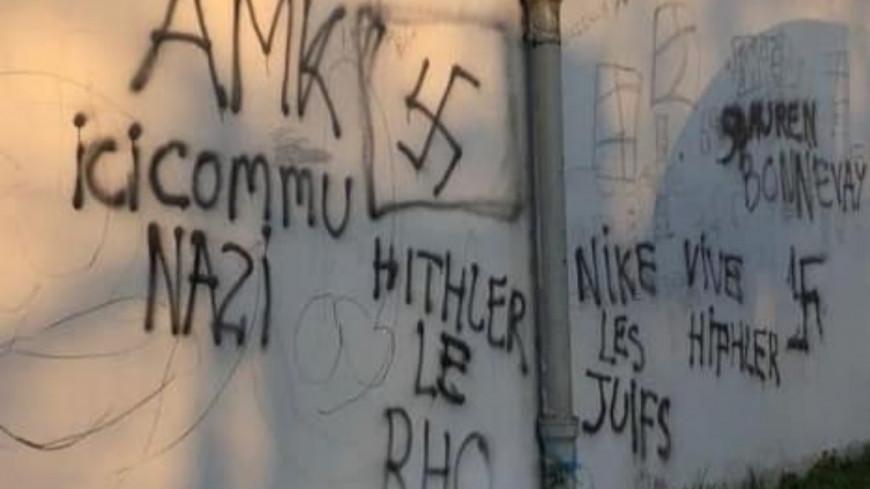Près de Lyon : des tags à la gloire d'Hitler découverts près de l'école Jean-Moulin à Bron
