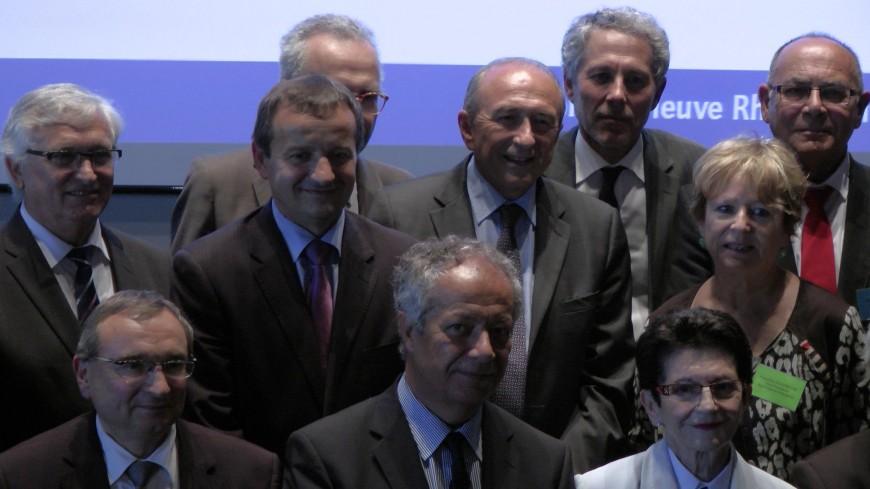 Gérard Collomb élu président du Pôle Métropolitain